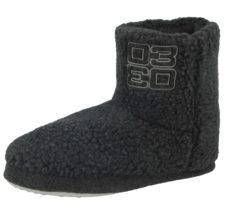 Cara Mia Women's Faux Sheepskin Slipper Boots - Grey