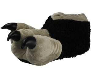 Mens Monster Claw Novelty Slippers