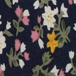 Blue/Pink Floral
