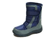Mercury Unisex Faux Fur Lined Winter Boots - Blue