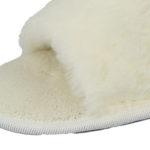 Cream Peep Toe