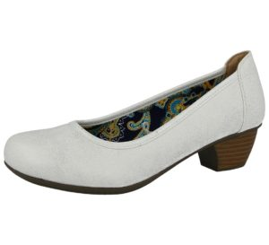 coconel womens faux leather slip on court shoe