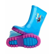 Disney Frozen Girls Glitter Wellington Boots (UK 6 / EU 24)