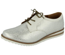Coconel Women's Faux Leather Lace Up Brogues