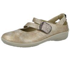 Antonio Dolfi Women's Touch & Close Mary Jane Shoes - Gold