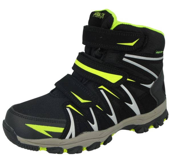 Young Spirit Unisex Triple Touch & Close Winter Boots - Green