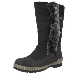 Hogotex Unisex Waterproof Thermal Fur Lined Winter Boots