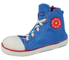 de Fonseca Adults Converse Novelty Slippers - Blue