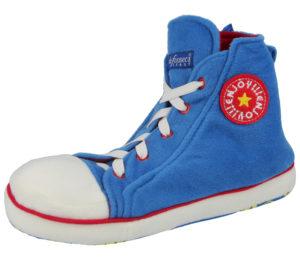 de Fonseca Adults Converse Novelty Slippers - Blue