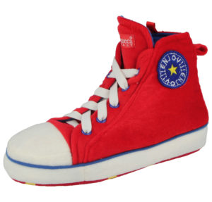 de Fonseca Adults Converse Novelty Slippers Red