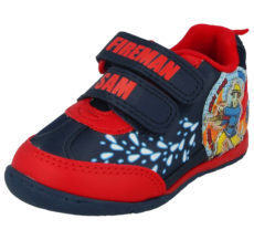 Fireman Sam Boys Hero Next Door Touch & Close Trainers