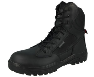 Groundwork Unisex Leather Steel Toe Cap Combat Boots