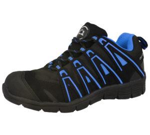 Groundwork Unisex Steel Toe Cap Safety Trainers - Black Blue