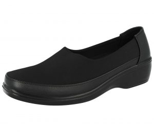 Maya Grace Women's Memory Foam Stretch Canvas Shoes