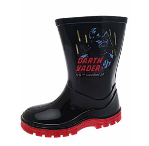 Disney Star Wars Boys Darth Vader Wellington Boots