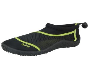 galop unisex neoprene mesh slip on wet shoe black