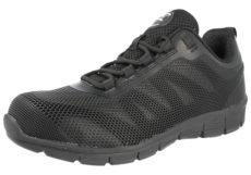 Groundwork Unisex Steel Toe Cap Shock Absorbing Trainers - Black