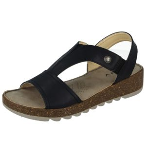 gluv womens faux leather t bar triple sequin sandal black