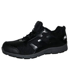 Groundwork Unisex Safety Steel Toe Cap Work Trainers - Black Grey