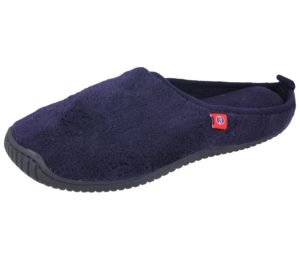 Barry Shoes Boys Towelling Mule Slippers
