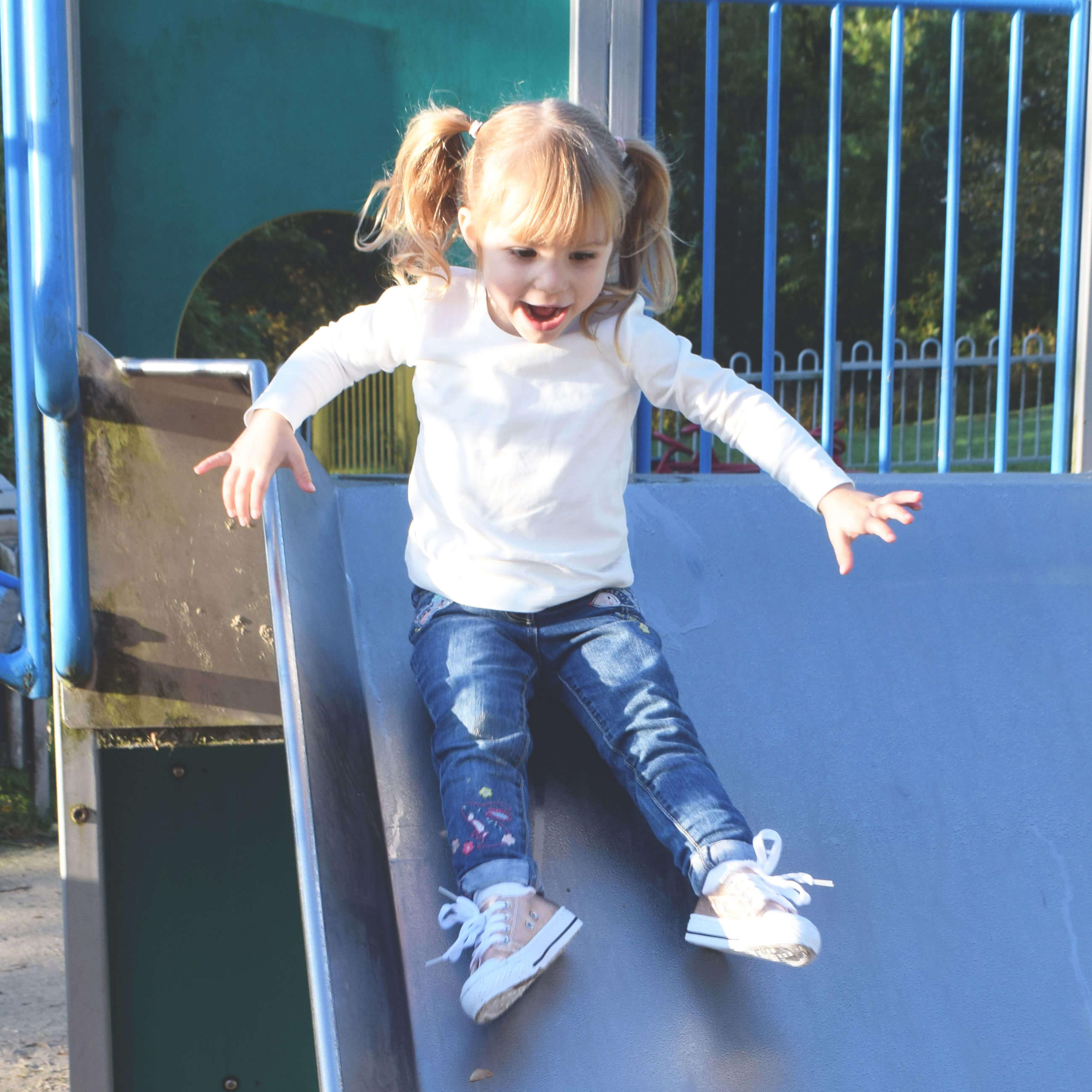 Urban Jacks Baltimore Kids Infants Rose Gold Shoes at park