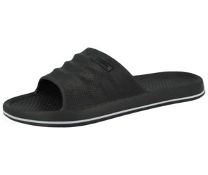 X Sport Men's EVA Waterproof Slip On Slider Sandals - Black