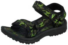 Galop Boys Faux Leather Camouflage Touch & Close Gladiator Sandals
