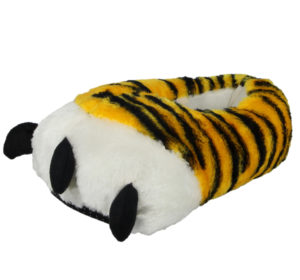 Yinka Shoes Women's Yellow Tiger Claw Novelty Slippers