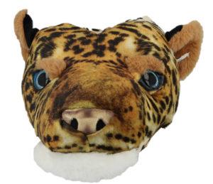 Plush Fun Unisex Leopard Novelty Slippers