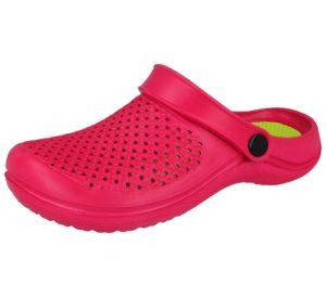 Cloxx Women's Fuchsia EVA Slip On Clogs