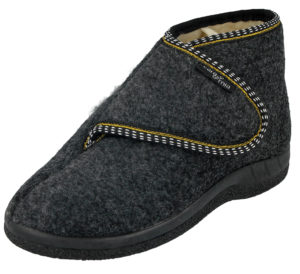 Cara Mia Women's Touch & Close Faux Sheepskin Slipper Boots