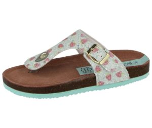 Girls Bio Rock T20031 Strawberry Toe Post Sandals