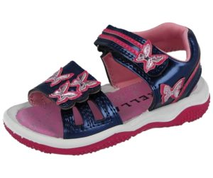 Girls Galop S10003 Butterfly Gladiator Sandals