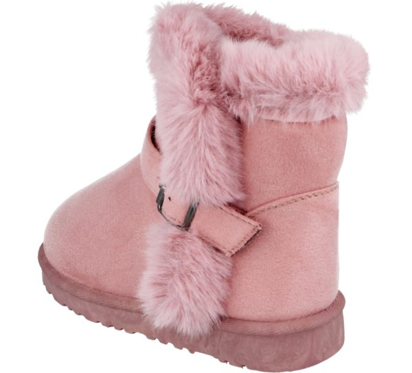 Girls Chatterbox Pink Boots