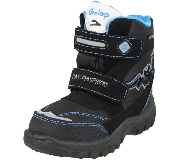 Boys Galop Bat Snow Boots