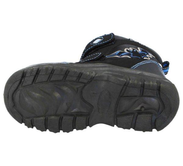 Boys Galop Bat Snow Boots Sole