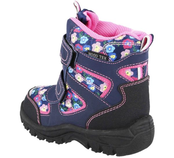 Girls Galop Floral Snow Boots
