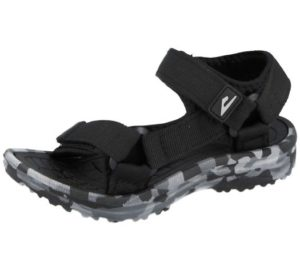 boys black and grey camo sandals