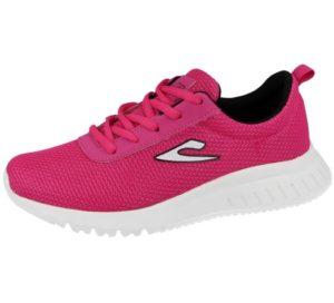 womens galop running trainers fuchsia